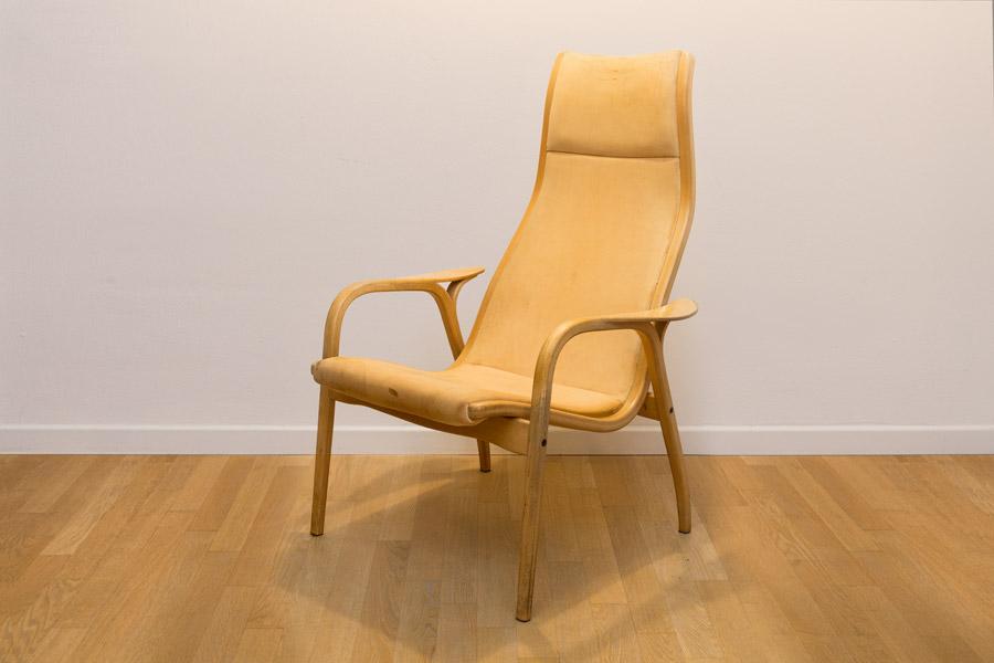 """Lamino""Easy chair by Yngve Ekstrom Swedese Danord"