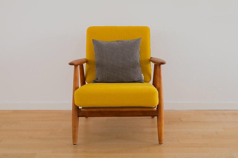 """The Cigar armchair "" by Hans Wegner"