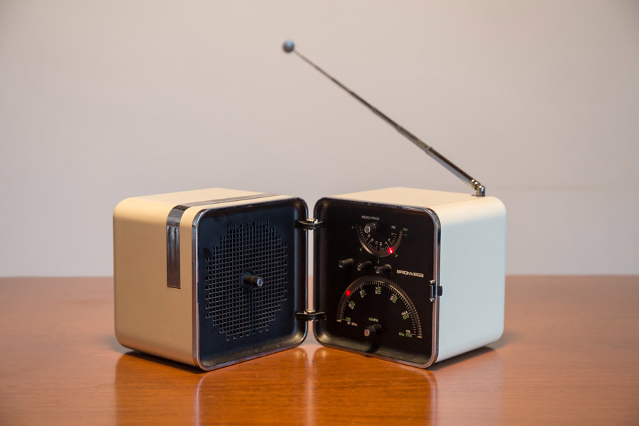 TS502 radio By Marco Zanuso for Brionwega