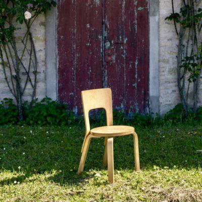 Alvar Aalto chair Mod. 66