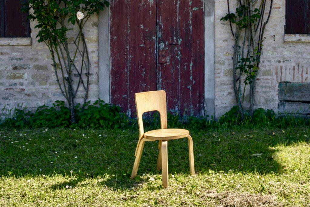 Alvar Aalto chair – Mod.66 – Cod. 1279