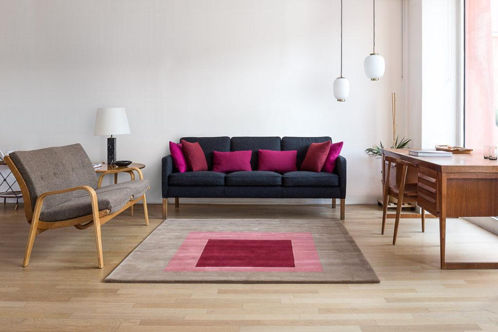 "Carpet "" The Square "" – Josef Albers – Code 1305"