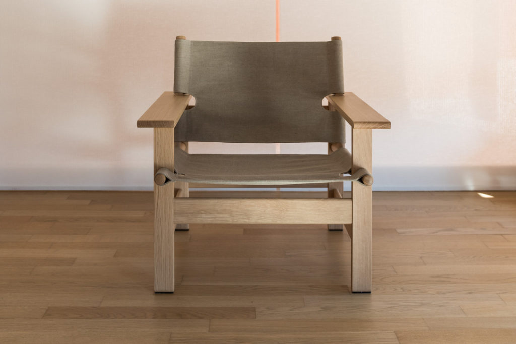"""""""Canvas chair by Borge Mogensen – Fredericia – Ref.1331"""