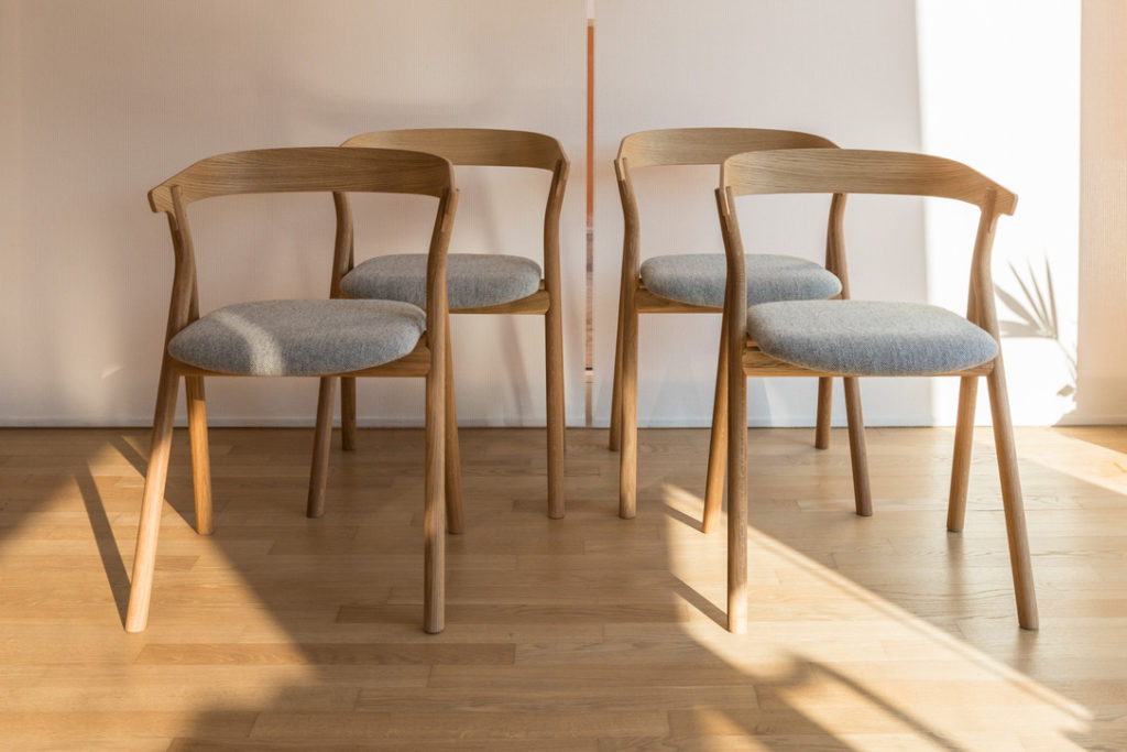 Chairs mod. Yksi - Fredericia - Code 1332