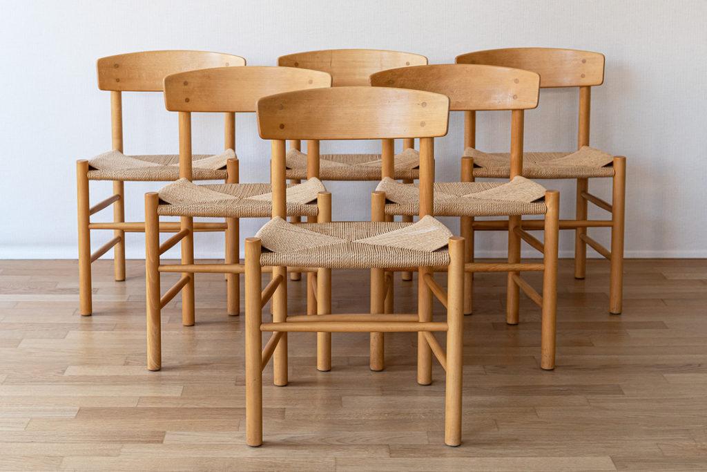""" People-chairs "" – Borge Mogensen – Cod. 1368"